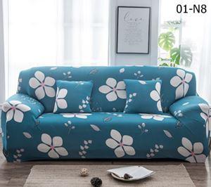 Sofa Cover (SINGLE + DOUBLE + TRIPLE) N8