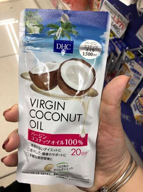 Japan 日本DHC椰子油 Coconut Oil