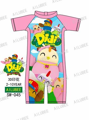 @  SW045 AILUBEE DIDI SWIMMING SUIT ( SZ 2-10Y )