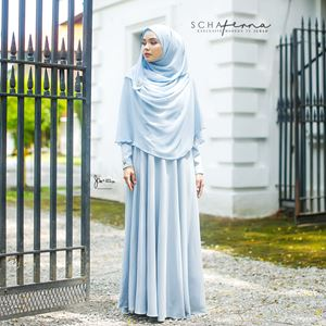SCHAFERNA EXCLUSIVE MODERN IN JUBAH (BABY BLUE)