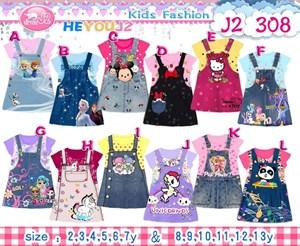 13@159895 J2 DRESS ( SIZE 2Y-12Y )