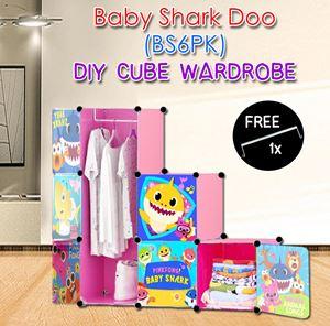 Baby Shark Doo PINK 6C DIY WARDROBE (BS6PK)