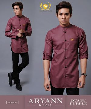 KURTA ARYANN 4RD BATCH (DUSTY PURPLE)