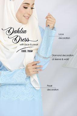 DAHLIA DRESS 708#