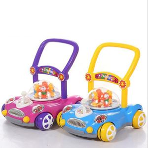 Car design musical baby walker