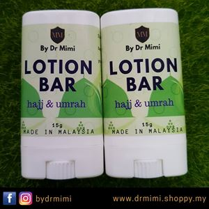 LOTION BAR - Hajj/Umrah