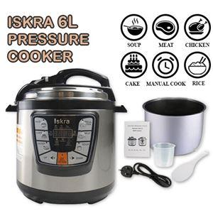 ISKRA  6L PRESSURE COOKER