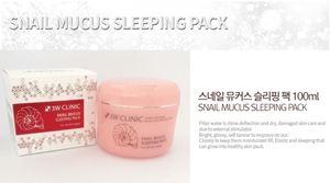 3W CLINIC Snail Mucus Sleeping Pack 100ML
