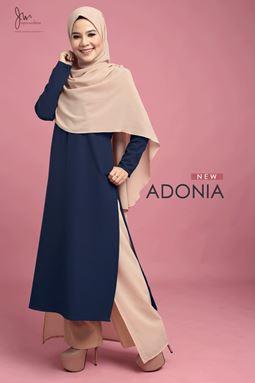 ADONIA (DARK BLUE) Y.E.S