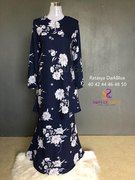 RATASYA DARK BLUE ( saiz 40 42 44 46 48 50 )