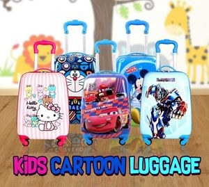 KIDS CARTOON LUGGAGE -19