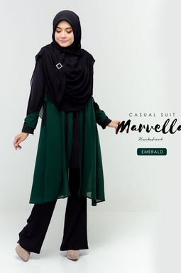 MARVELLA SUIT (EMERALD)