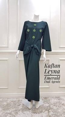 Kaftan Leyna Emerald Green