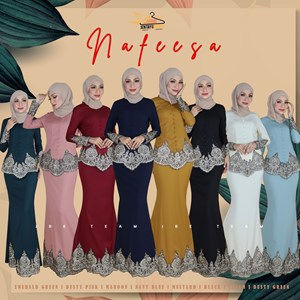 NAFEESA EXCLUSIVE KEBAYA