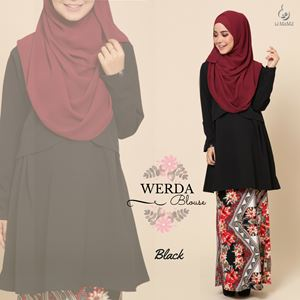 Werda Blouse : Black