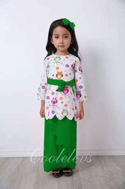 Kurung Scallop Owl by Coolelevs - 05