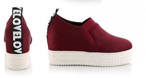 Shoe Z745 Black | Maroon | Gray