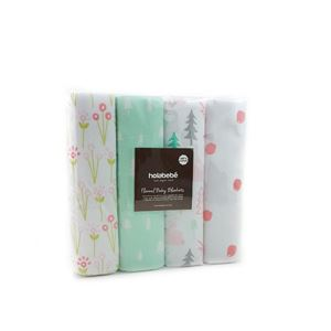 Floral Pine Trees 4 in 1 Pack