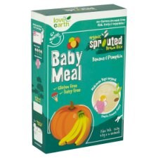 Love Earth Organic Sprouted Brown Rice Baby Meal Banana & Pumpkin 6+ Months 6 Sachets x 20g (120g)