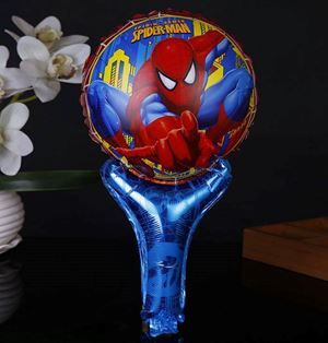 HANDHELD BALLOON ( SPIDERMAN )