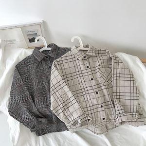 Plaid Thick Bf Shirt