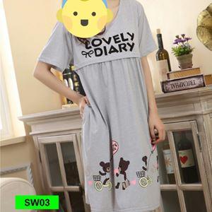 Sleepwear SW03 (Preggy and Breastfeeding)