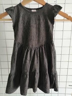 Princess Dress V2 : WASHED DEEP GREY, size 4-6