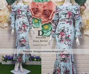 Dress Karina Dusty Blue