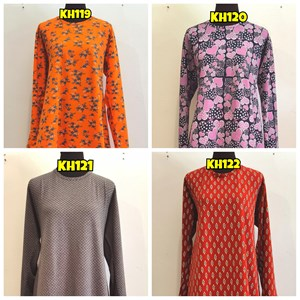 [KH119 - KH122] Khadijah Blouse (Size 4XL)