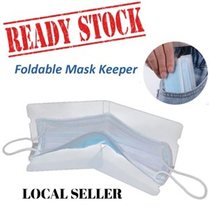Foldable Mask Keeper - 1 unit