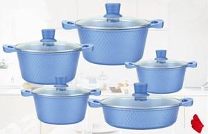 Dessini granite Diamond 12pcs Cookware set periuk set