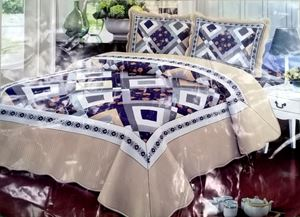 (CJ001) NEW DESIGN 3PC SET CADAR PATCHWORK