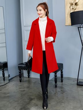 Mori Autumn Woolen Coat
