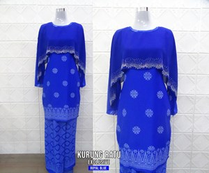 KURUNG RATU ROYAL BLUE