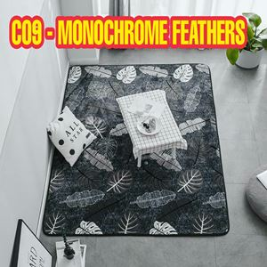 C09 - Monochrome Feathers