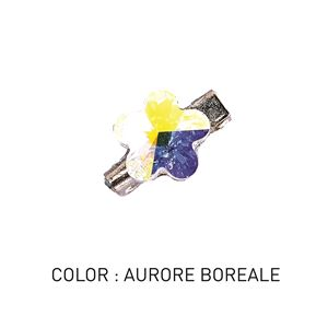 Brooch 3D Flower Luxe Aurore Boreale