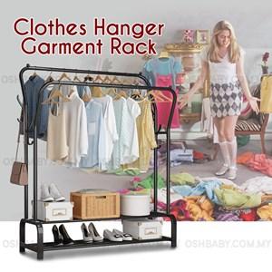 CLOTHES HANGER GARMENT RACK(steel)