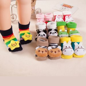 Newborn 3D Socks