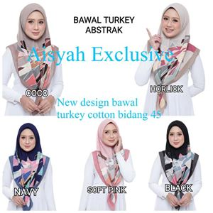 BAWAL TURKEY COTTON ABSTRAK