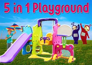 5 in 1 Playground
