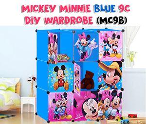 Mickey Minnie BLUE 9C DIY WARDROBE (MC9B)