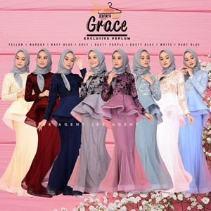 GRACE EXCLUSIVE PEPLUM