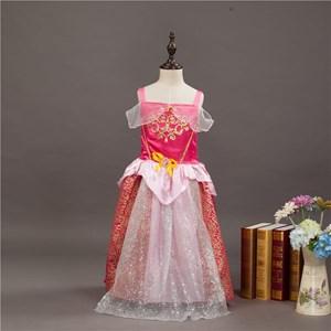 Pink Sleevesless Princess Dress