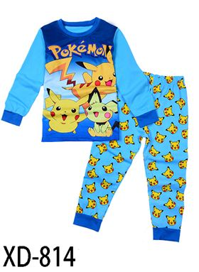 XD-814 POKEMON KIDS PYJAMAS