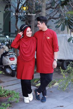 KURTA MA Unisex ( SCARLET RED  ) BATCH 02