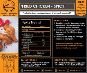 Fried Chicken (Hot & Spicy)