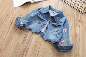 ADEEL  EMBROIDERED DENIM JACKET
