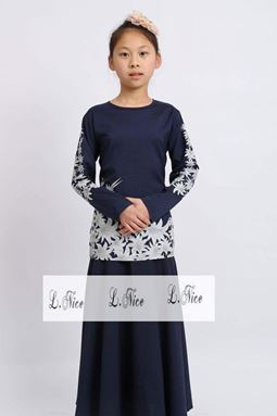 @  DARK BLUE 2016 L.NICE  2PCS  SET 7  ( SIZE 1-12Y )