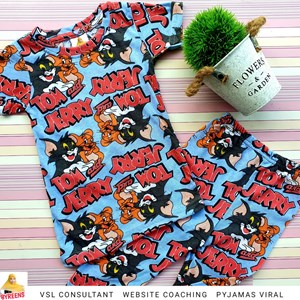 PYJAMAS KANAK-KANAK TOM and JERRY
