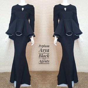 Peplum Asya Black